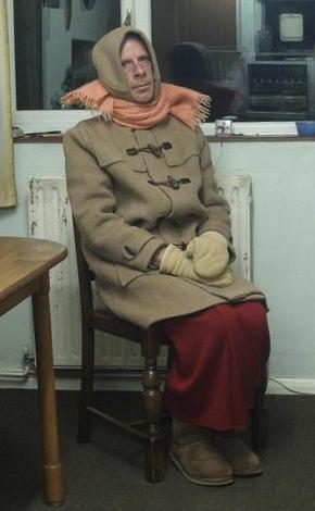 I love dressing up in dufflecoats