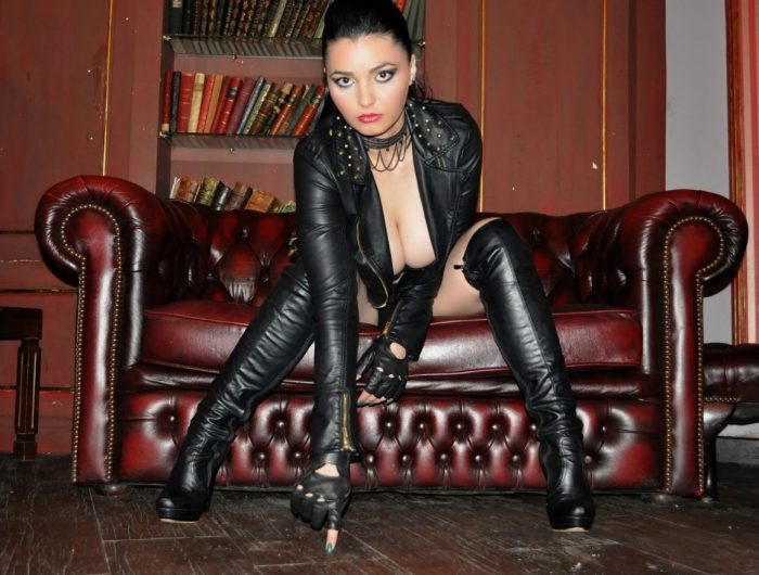 She pointed at where the last slave had emptied his jizz on the floor and told me to lick it up  ...