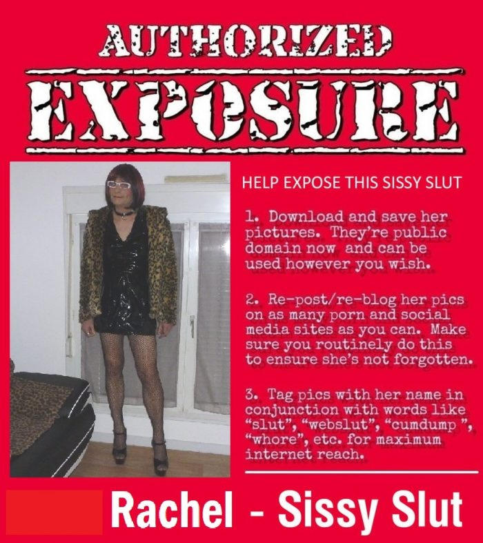 Sissy to be exposed