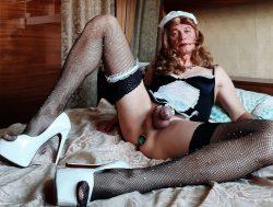 Sissy maid Kristy