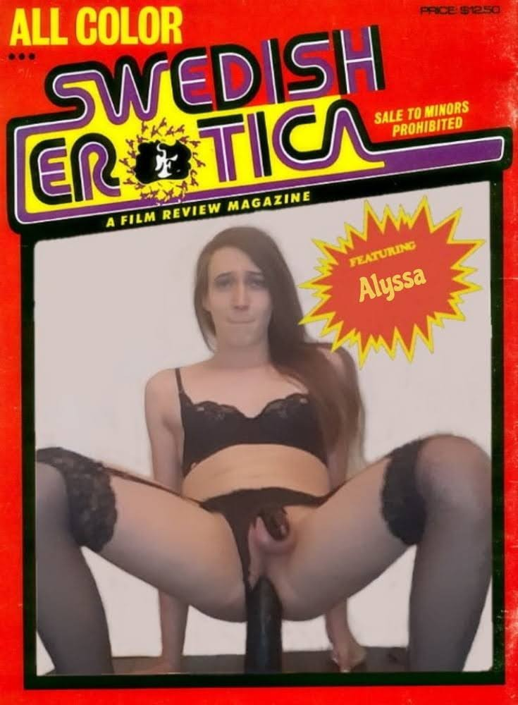 Sissy Faggot Kyra fucks a dildo