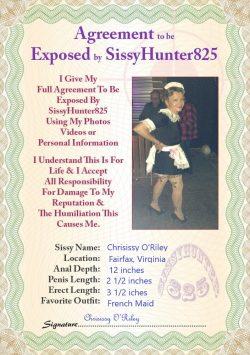 Chrisissy's public exposure agreement!