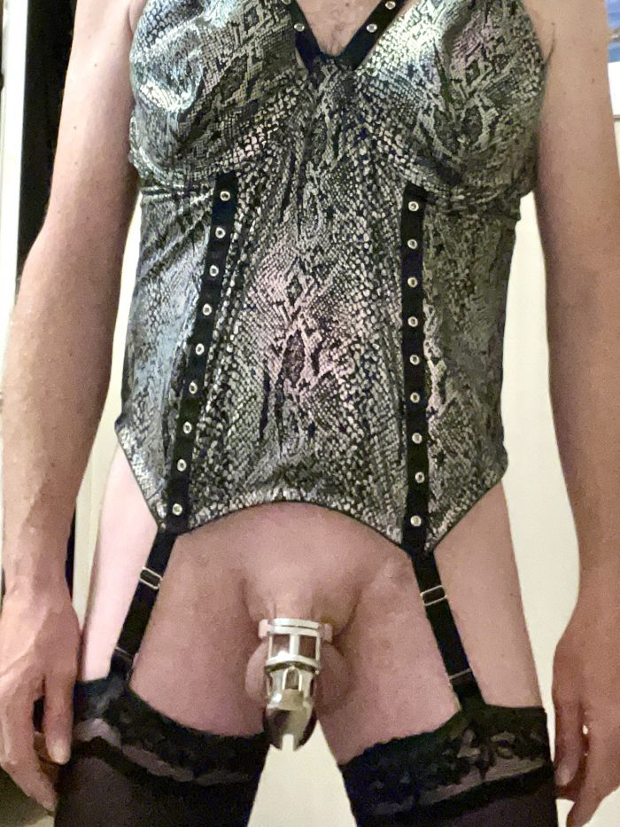 Sissy boy new outfit