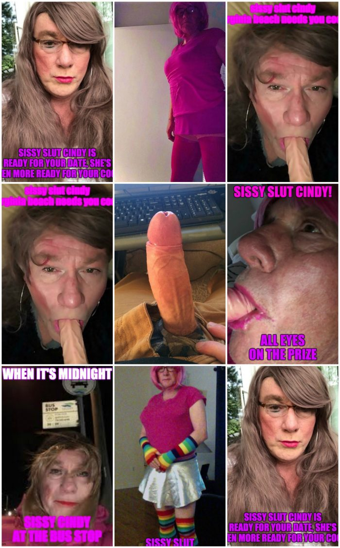 sissy slut cindy works, dreams, and lives for the cock you have