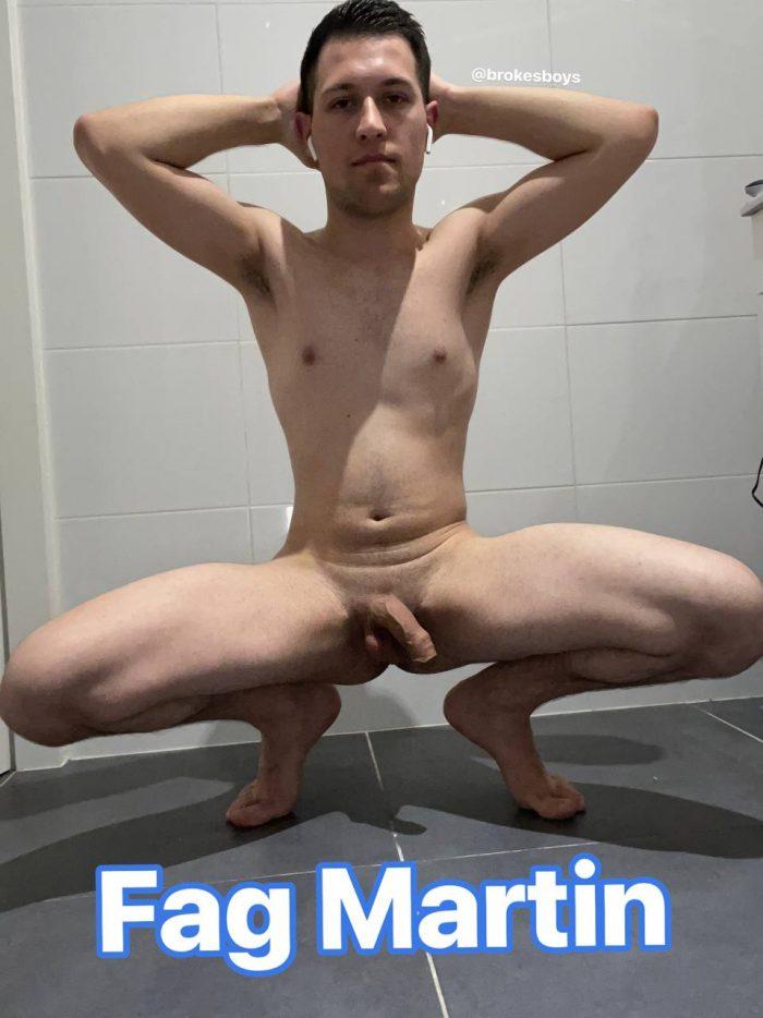 Fag Martin Exposed