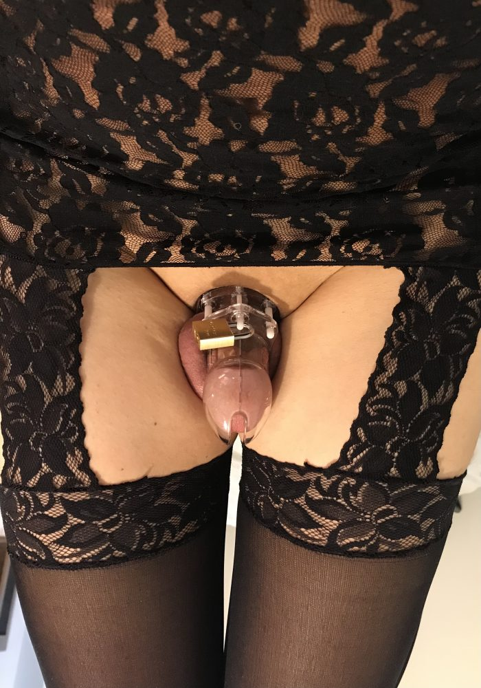 Sissy fag with pathetic tiny cock