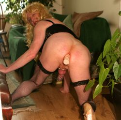 sissy drew anal training for real cock cocklocked sex slave