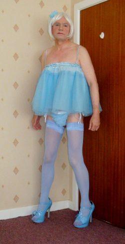 Pretty in baby blue