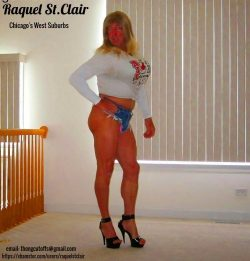 Tanned Blonde Bitch Raquel St.Clair