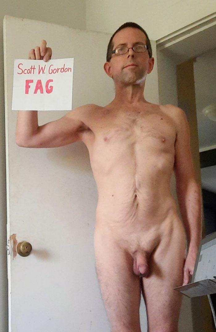 Scott W Gordon, faggot