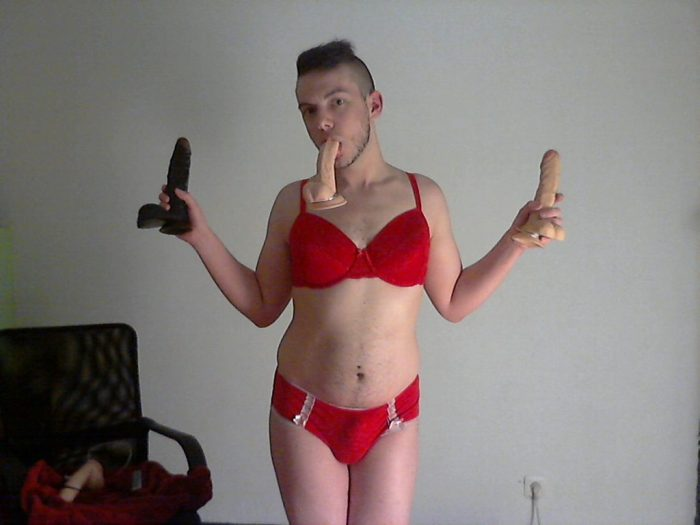 sissy Jens exposed for the dirty slave slut she is