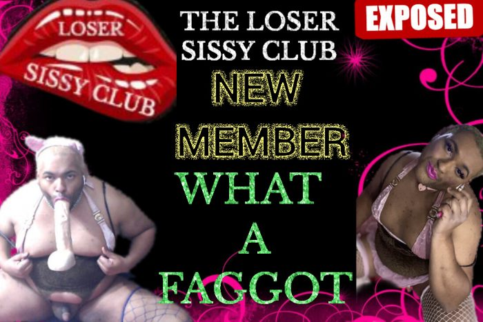 The loser sissy club Exposed faggot Cock whore candy and victor velvet faggot