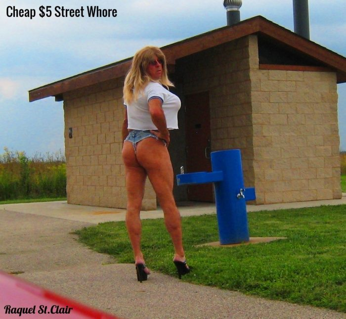 Tanned Blonde $5 Street Whore