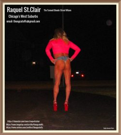 Tanned Blonde Street Whore