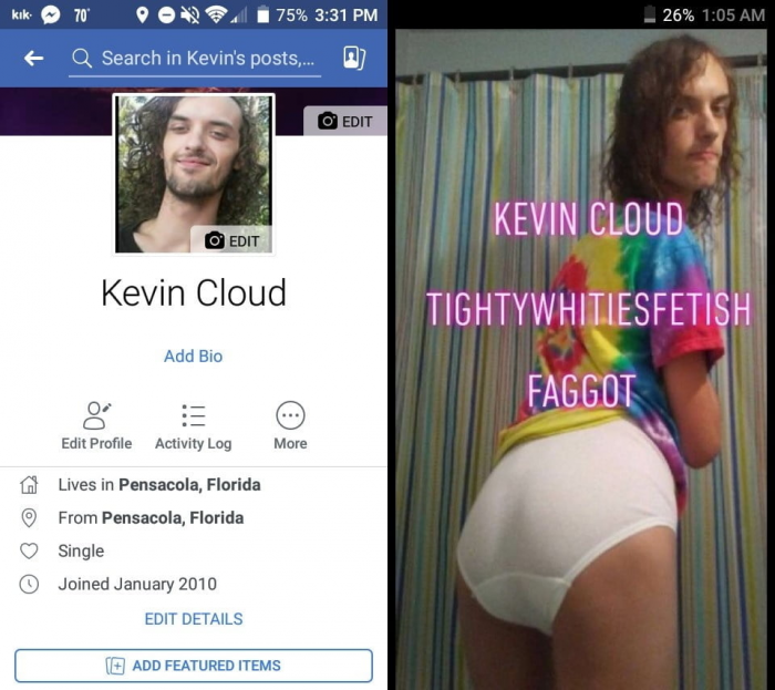 Tighty Whities faggot exposed
