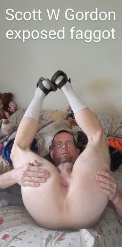 Scott W Gordon – exposed faggot