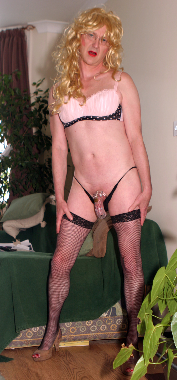 clitty in….or out ?