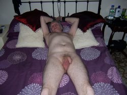 slave david chained to bed