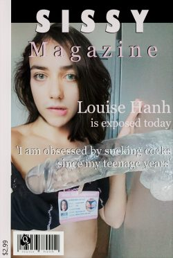 Louise Hanh in cover of Sissy Mag !