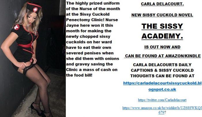 The Sissy Cuckold Penectomy Clinic.