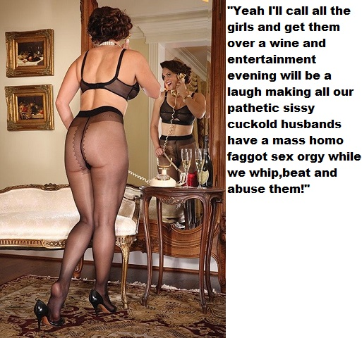 The cuckoldress wife arranging entertainment at the girls wine night.