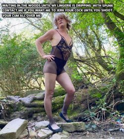 Chantellesissy – who wants to spunk all over my sissy lingerie?