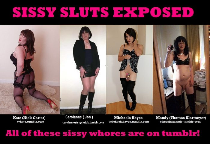 yes say yes to these sissy sluts, they need proper display