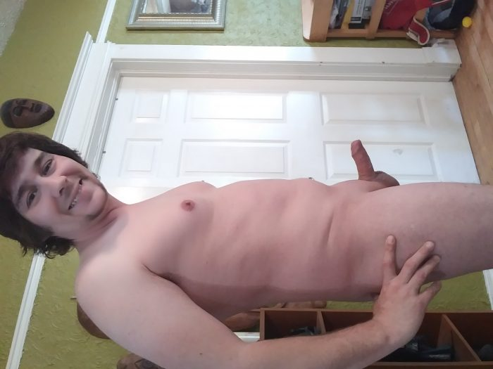 Slave's Tiny Penis Exposed