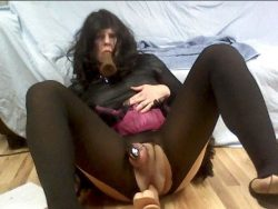 Sissy Faggot Samantha deserve just exposure in every sites
