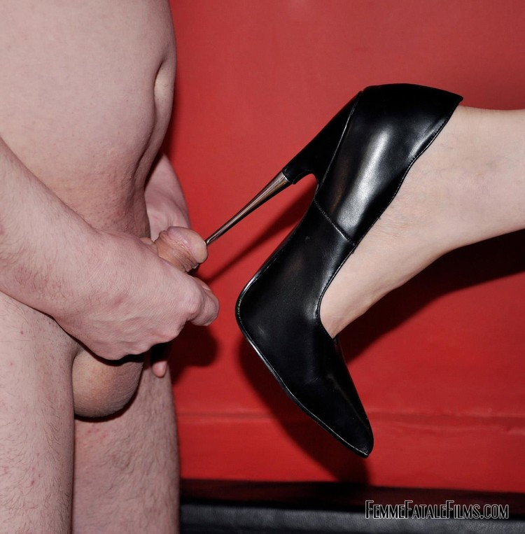 My feeble dick is nothing when compared to the power of her heel