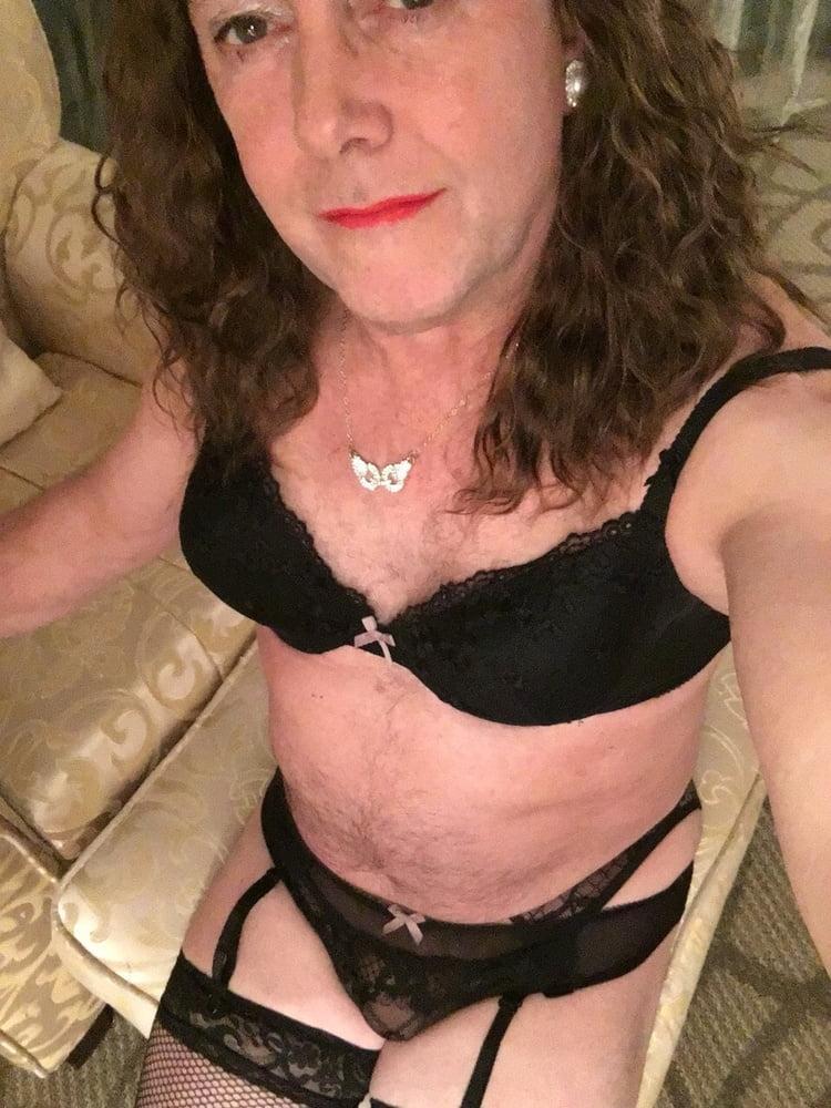 Bryony loves black undies