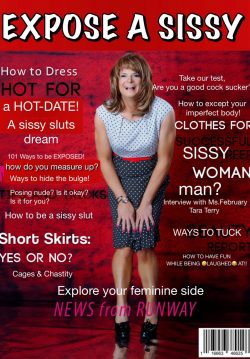 Expose A Sissy Magazine's Miss February