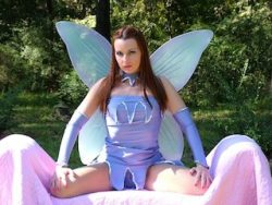 Be a pretty sissy fairy for princess