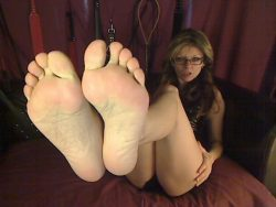 These feet and my strapon dick will own your sissy ass