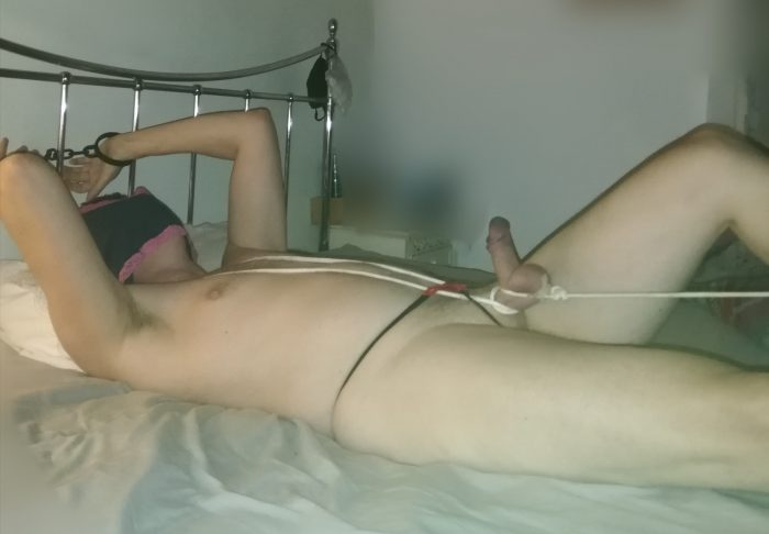 Small dick tied