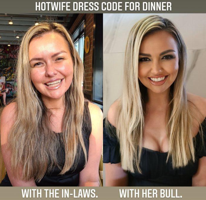 Hotwife dress code
