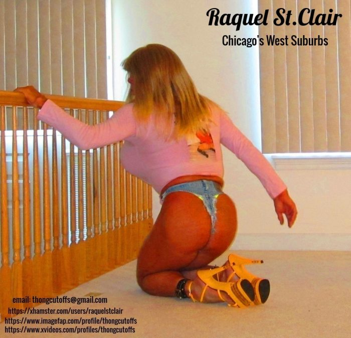 Tanned Blondie Bimbo Raquel St.Clair