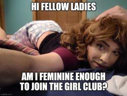 Boys will be girls