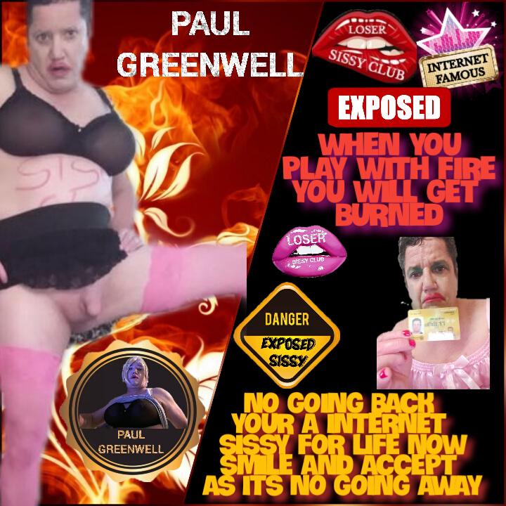 Paulgreenwell exposed sissy