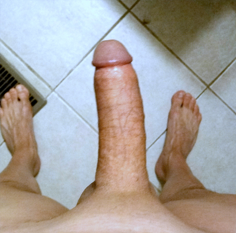 My shaved dick.