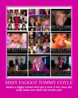 sissy faggot tommy coyle needs exposed, fucked, branded, and owned