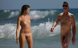 True nudist friends