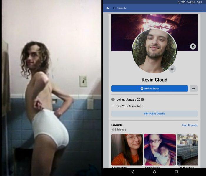 Kevin Thomas Cloud exposed faggot