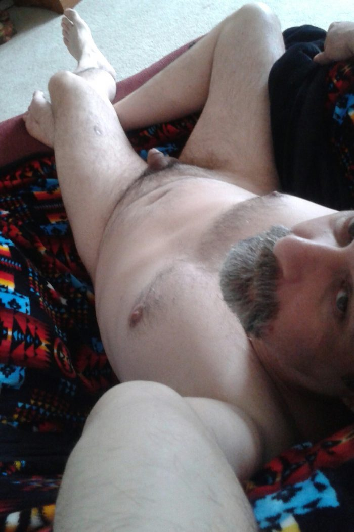 My small cock and face naked exposed