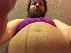 Fat bellied sissy Brian