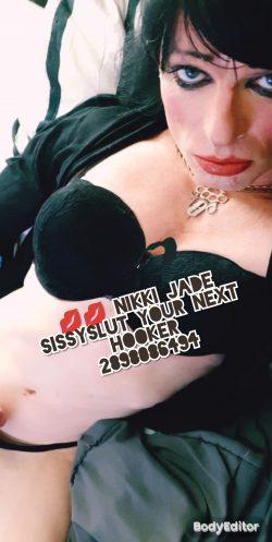 Nikki jade sissyslut from the GTA 💋💋💋👌👌♠️