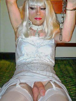 White dress handcuffs