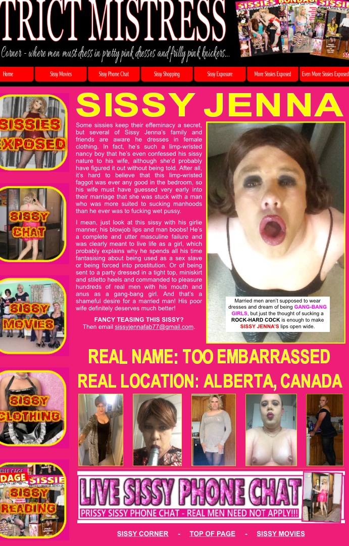 Here a sissy, there a sissy….EVERYWHERE a SISSY!