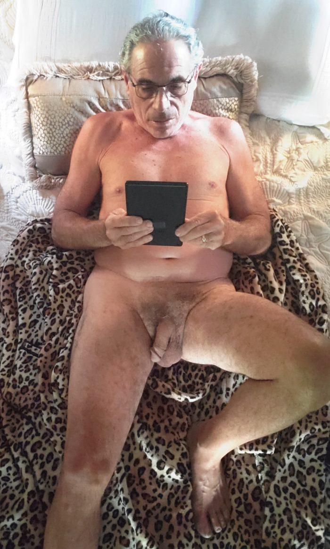 Jim Reading Naked