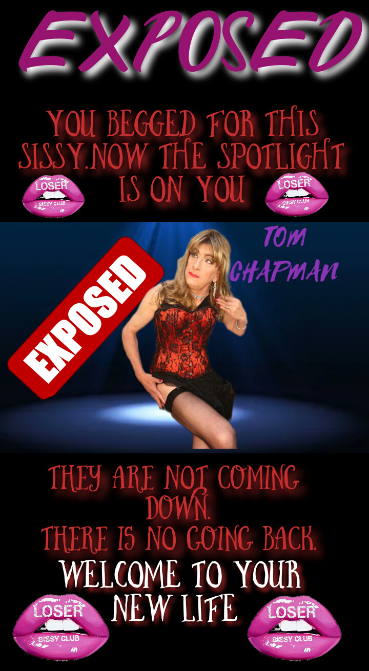 Tom Chapman loser sissy club